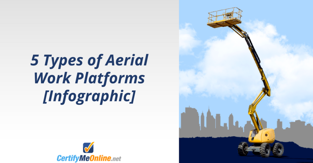 CMO - 5 types of aerial work platforms