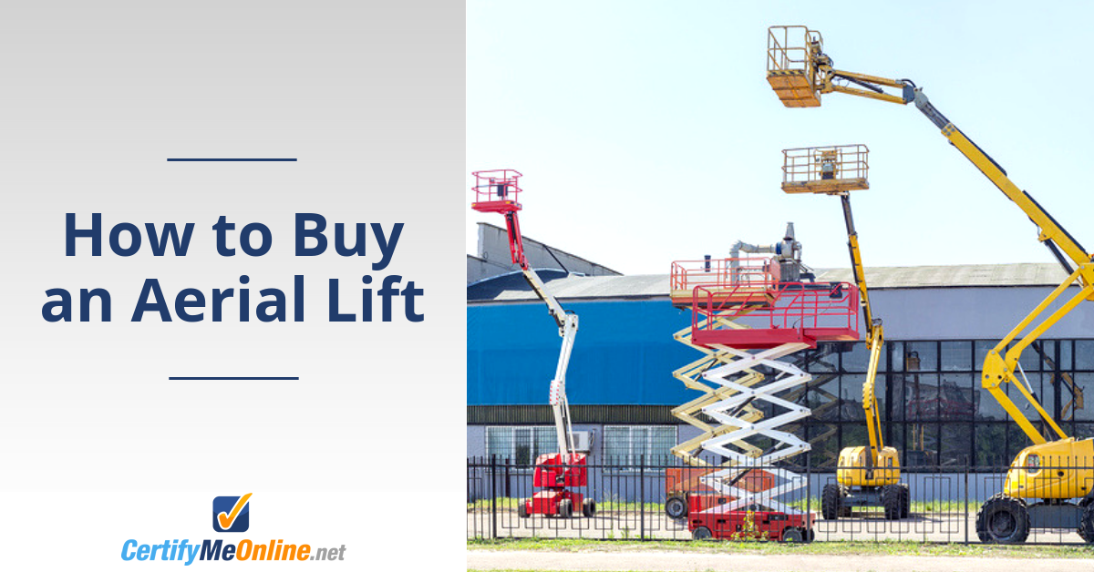 How to Buy an Aerial Lift