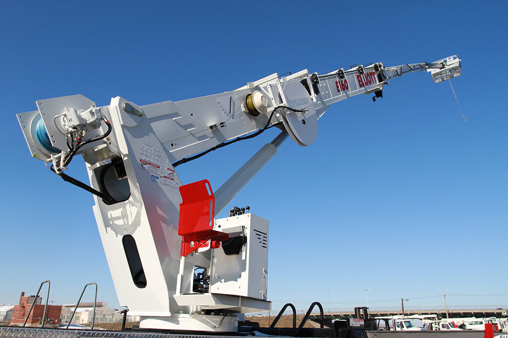 elliott's tallest aerial lift reaches 215 ft