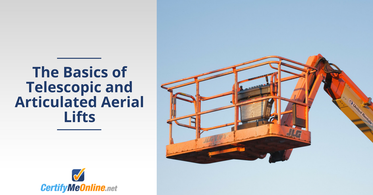 telescopic and articulated aerial lifts