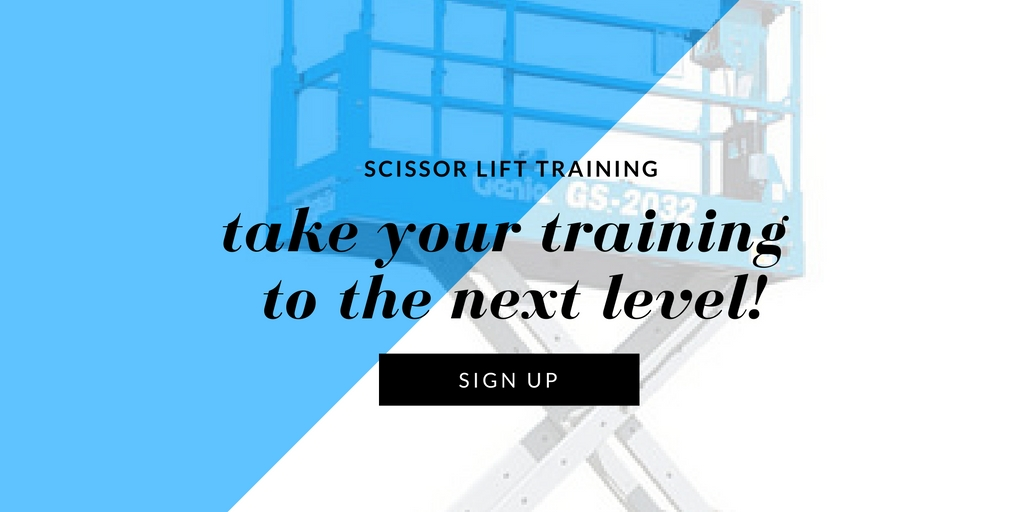 Scissor Lift Certification Certifymeonline