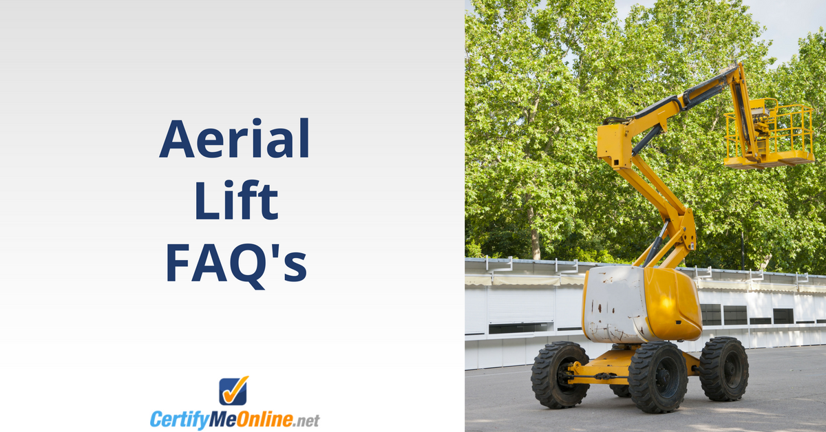 aerial lift frequently asked questions