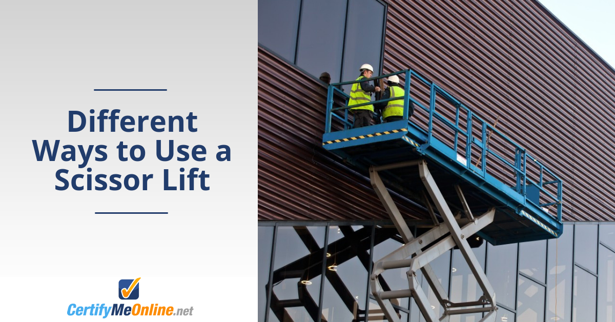 Different Ways to Use a Scissor Lift