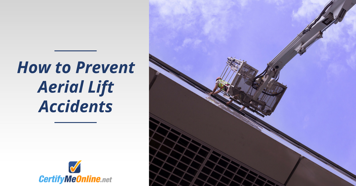 learn aerial lift safety to prevent aerial lift accidents
