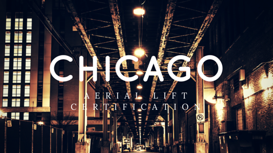 aerial lift certification in Chicago