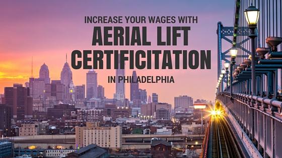 aerial lift certification in philadelphia