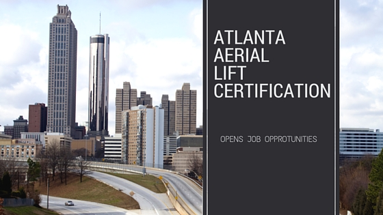 atlanta aerial lift certification