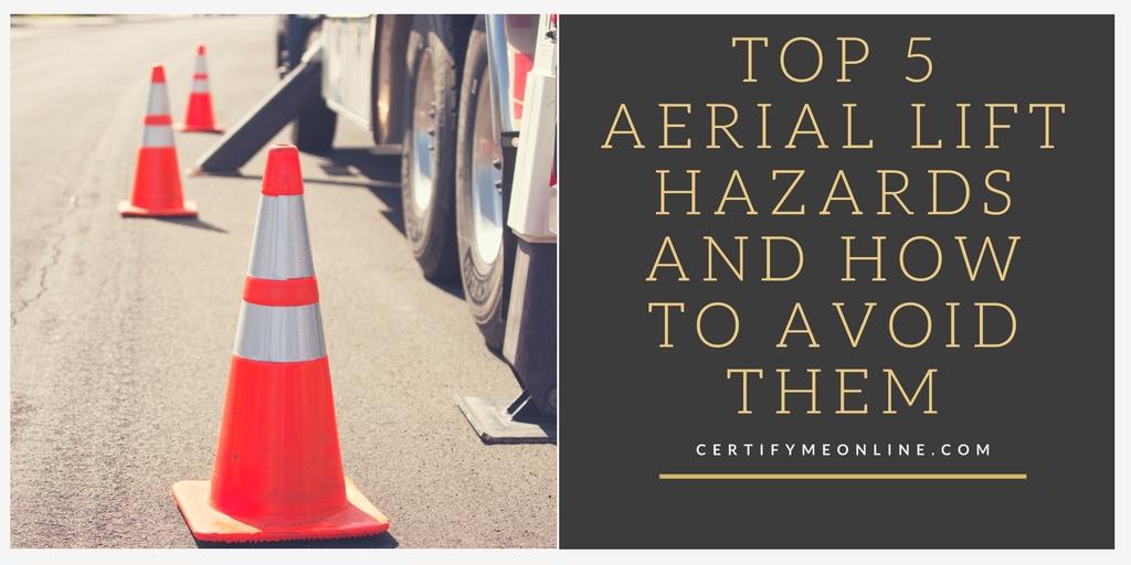 aerial lift hazards