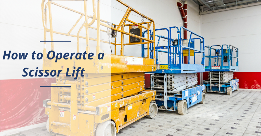 CMO - how to operate a scissor lift