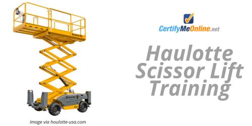 Haulotte Scissor Lift Training