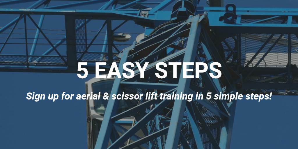 5 easy steps aerial lift certification