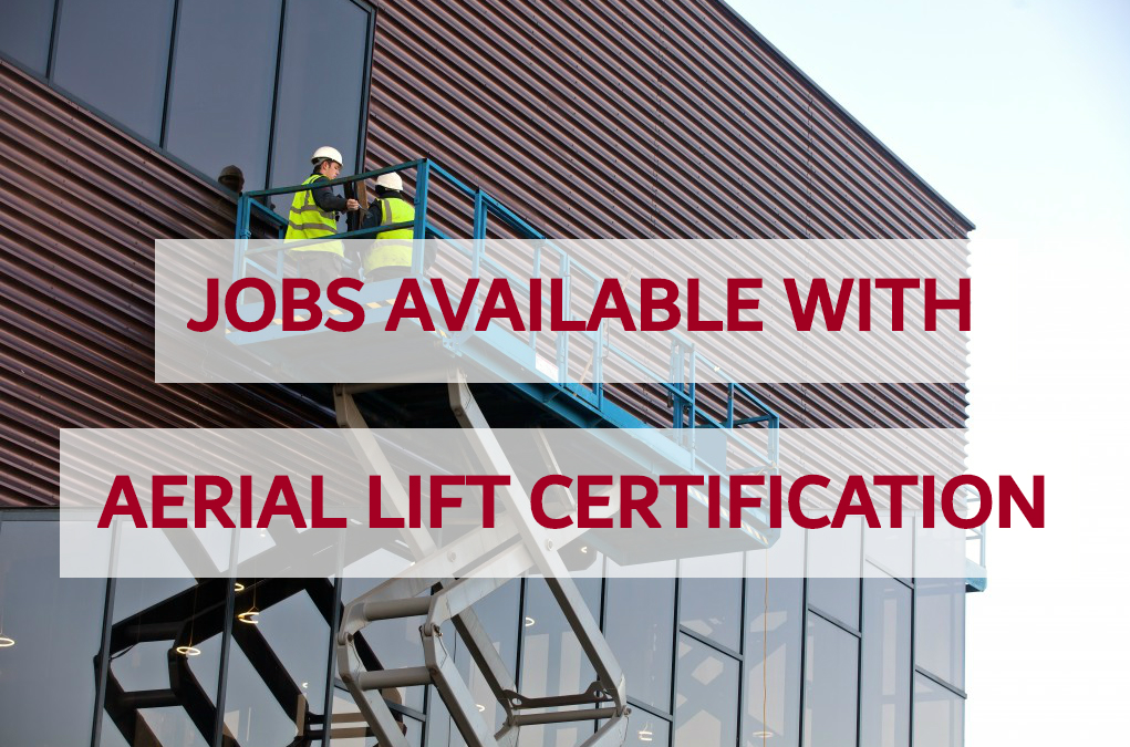 aerial lift jobs certification