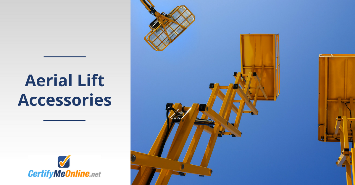 Tallest Aerial Lift : Aerial lift accessories for work platforms