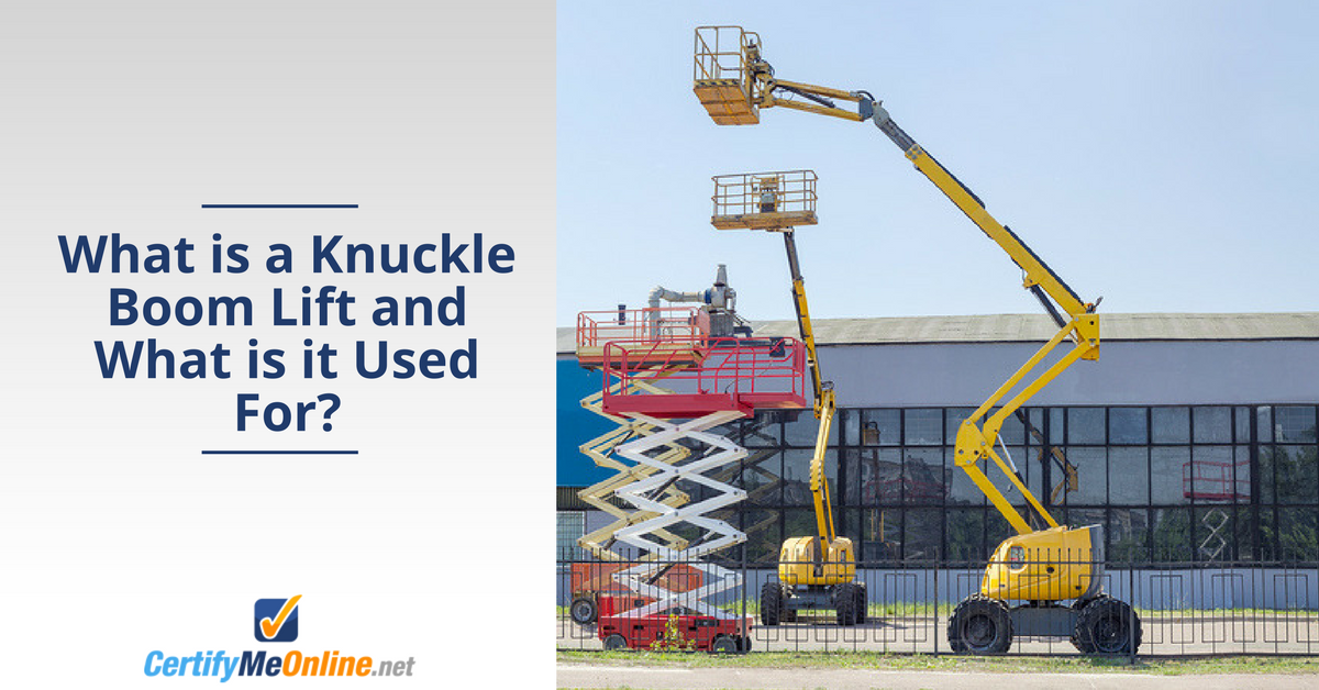 learn what a knuckle boom lift is