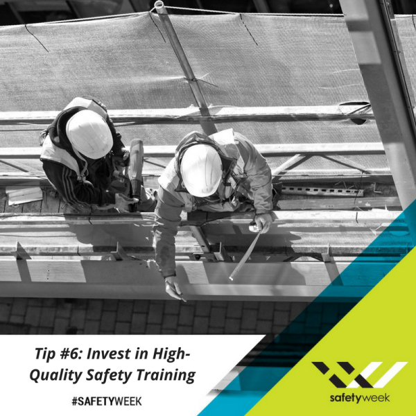 Construction Safety Week Tip 6