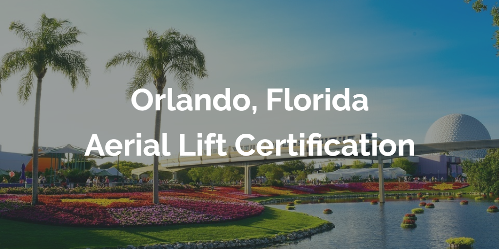 orlando aerial lift certification