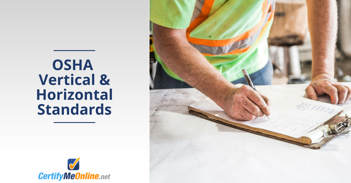 osha vertical horizontal standards